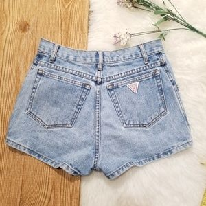 GUESS vintage high waisted jean shorts denim short
